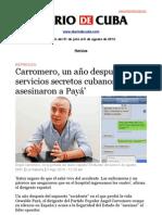 Boletín de DIARIO DE CUBA | Del 31 de julio al 6 de agosto de 2013