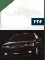 User Manual Peugeot 605