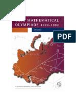 Arkadii m Slinko Ussr Mathematical Olympiads 1989 19921