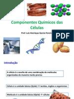 Aula 4 e 5 - Componentes químicos das células