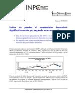 Reseña INPC julio 2013