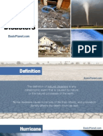 Natural Disasters - Facts and Information