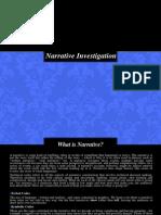 Narrative Investigation