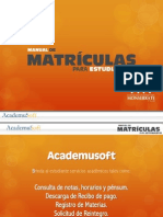 Manual Matricula Est