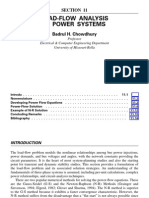 Load-Flow Analysis in Power Systems
