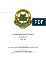 Park Hills Tree Survey Report
