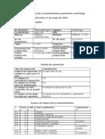 centrifuga protocolo mantenimiento
