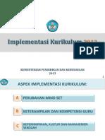 Impementasi Kurikulum 2013-Final