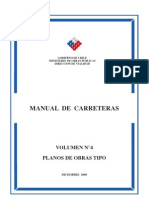Manual de Carreteras VOL 4