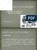 Valvulas y Actuadores Power Point