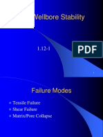 1.12 Wellbore Stability