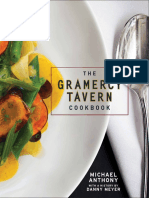 Recipes from The Gramercy Tavern Cookbook by Michael Anthony