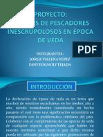 Proyecto Pesca Ilegal