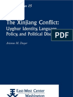 Xinjiang Conflict. Uyghur Identity, Language Policy, And Political Discourse_Dwyer, Arienne M.