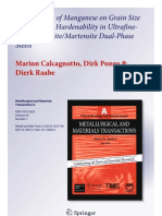 2012 Metall Trans Mn Effeect on DP SteelsOn the Effect of Manganese on Grain Size