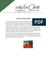 Mini Newsletter40