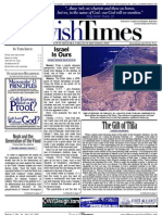 Jewish Times - Volume I,No. 24...July 19, 2002