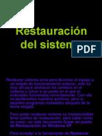 Restauracion Del Sistema