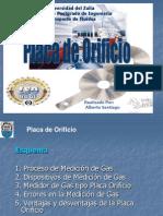 Placas de Orificio (Alberto Santiago)