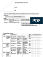 Proyecto de Aprendizaje 2012