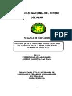 Modelo de Tesis (Influencia)