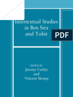 [Jeremy Corley, Vincent T. M. Skemp] Intertextual Studies