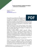 La publicación del conocimiento científico-tecnológico