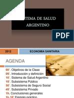 Sistema de Salud Argentino2012