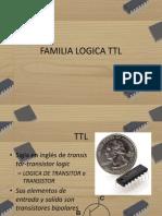 Familias TTL y CMOS