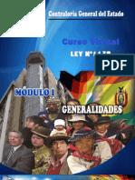 Modulo i Ley 1178