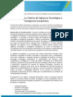 Talleres de Vigilancia Tecnológica e Inteligencia Competitiva 25-07-13