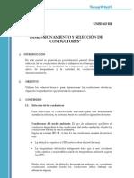0.3 Dimensionamiento y Seleccion de Conductores
