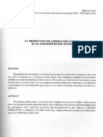 La producción de artefactos líticos-Alvarez ocr