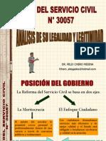 Analisis de Legalidad y Legitimidad de La Ley 30057