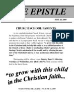 Epistle 2009 05