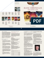 The Kane Chronicles series discussion guide