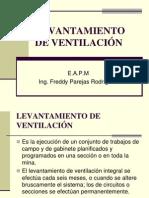 LEVANTAMIENTO DE VENTILACIÓN