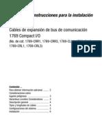 Cables de expansión de bus de comunicación