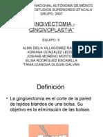 Procedimiento de Gingivectomia - Gingivoplastia