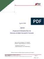 Informe de Proyecto Realizado Durante Pasantias en La Empresa REDTV. Agosto 2008