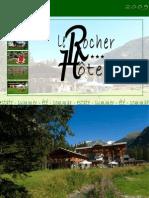 Le Rocher Hotel Brochure
