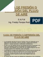 CAIDA DE PRESIÓN  DEL FLUJO - ATKINSON