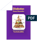 Diabeties - Home Remedies