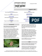 Kentucky Pest News, August 6, 2013