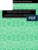 The Essentials Series Book One