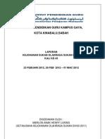 Laporan Sukan Dvc - Setiausaha