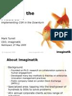 NetImpact Imaginatik - Enterprise Crowdsourcing for Corporate Social Responsibility (CSR) - Mark Turrell