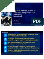 Big Data_ the Next Frontier Presentation