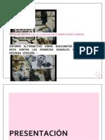 Informe Alternativo Sobre Asesinatos y Crímenes de Odio Contra Las Minorias Sexuales en Mexico D F