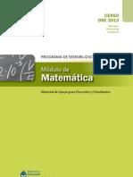 Módulo Matematica